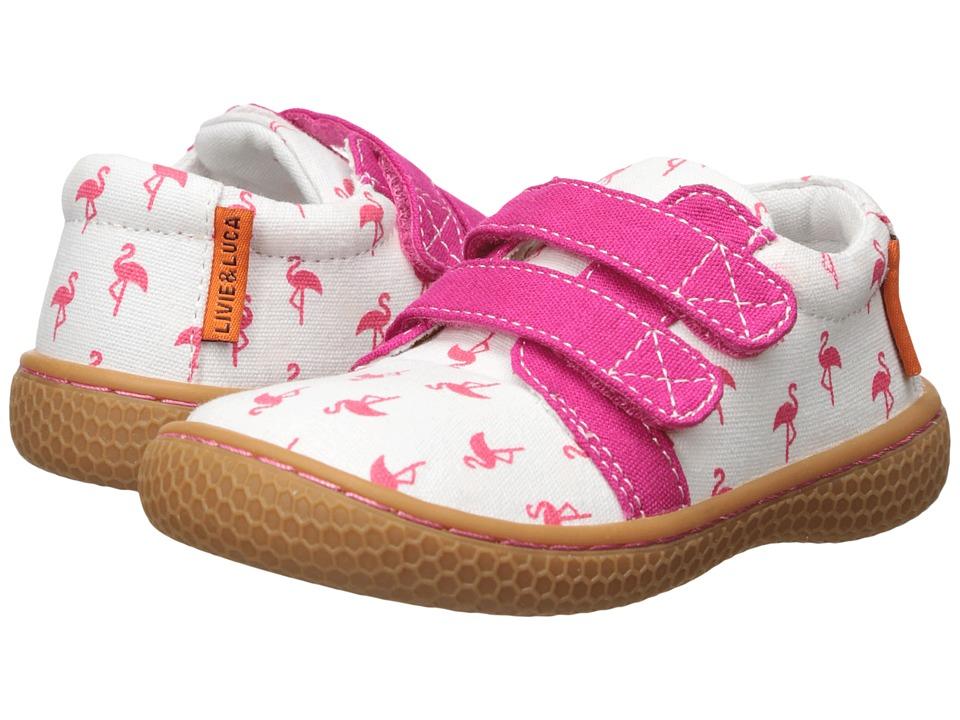 Livie & Luca - Peppy (Toddler/Little Kid) (Flamingo) Girls Shoes