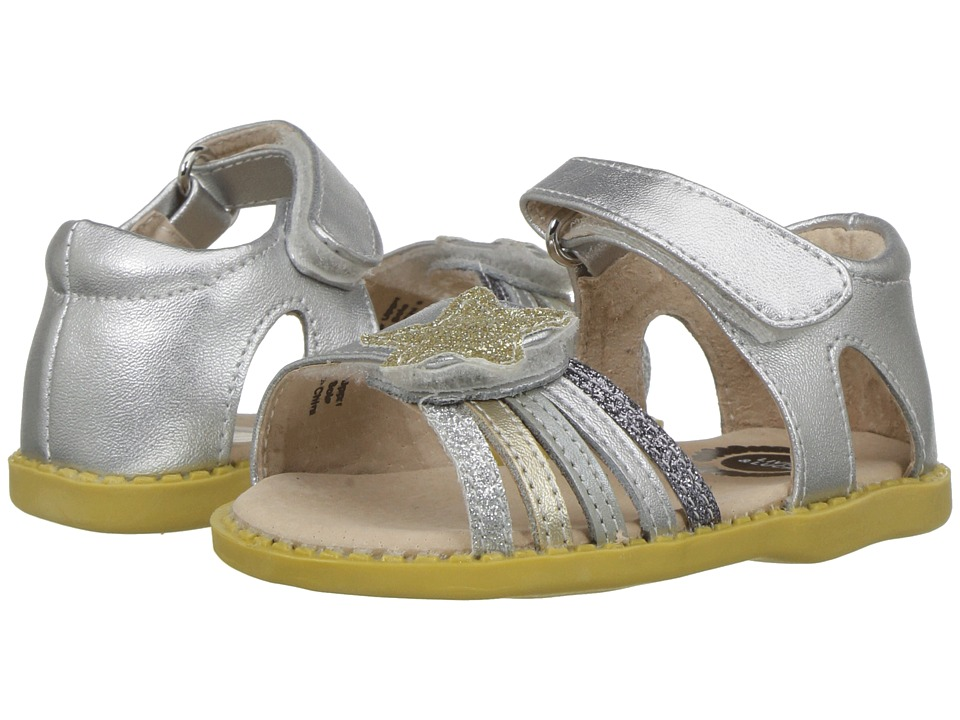 Livie & Luca - Nova (Toddler/Little Kid) (Silver Sparkle) Girls Shoes