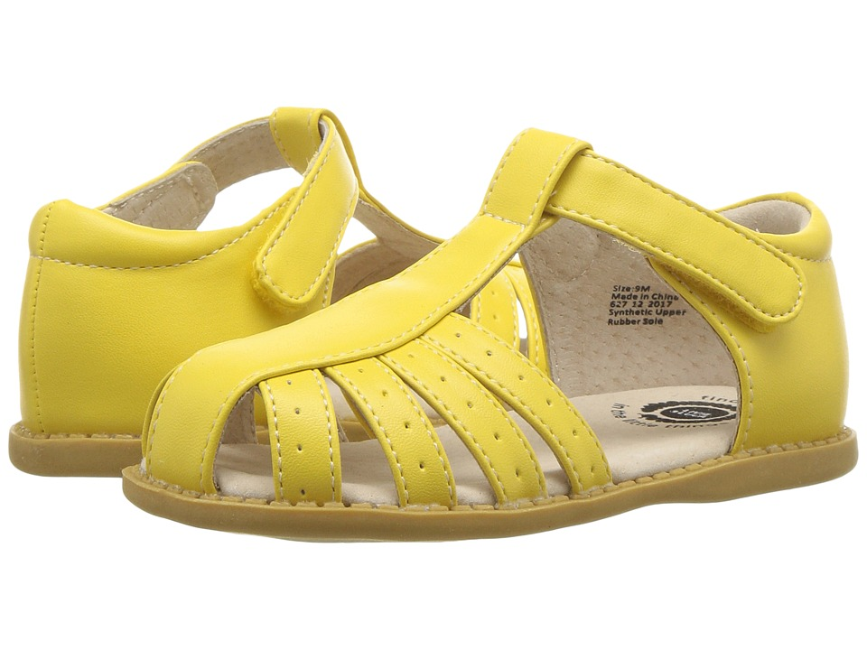 Livie & Luca - Paz (Toddler/Little Kid) (Lemon Yellow) Girls Shoes
