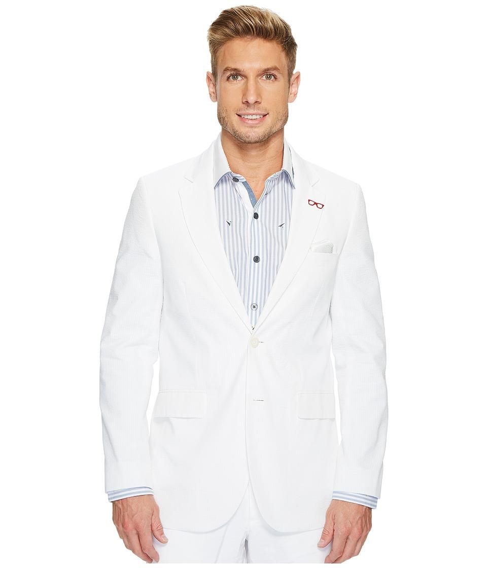 Robert Graham Castroville Seersucker Sport Coat (White) Men