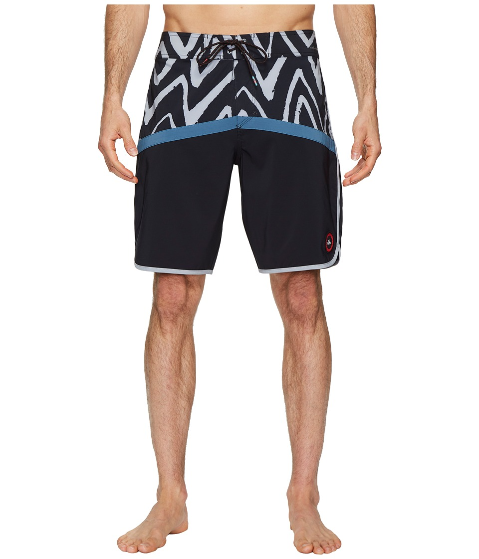 Quiksilver Highline Techtonics 20 Boardshorts (Real Teal) Men