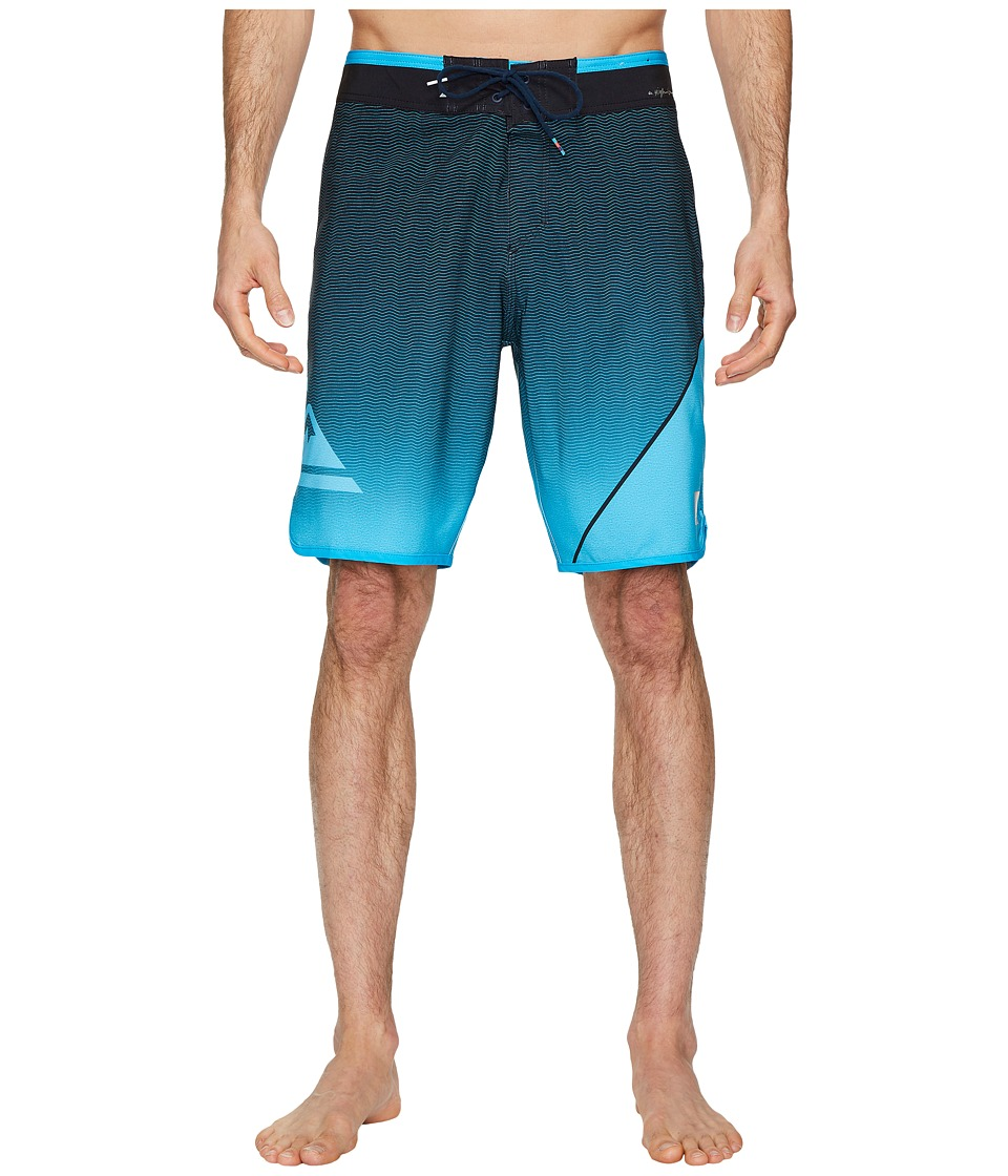 Quiksilver Highline New Wave 20 Boardshorts (Atomic Blue) Men