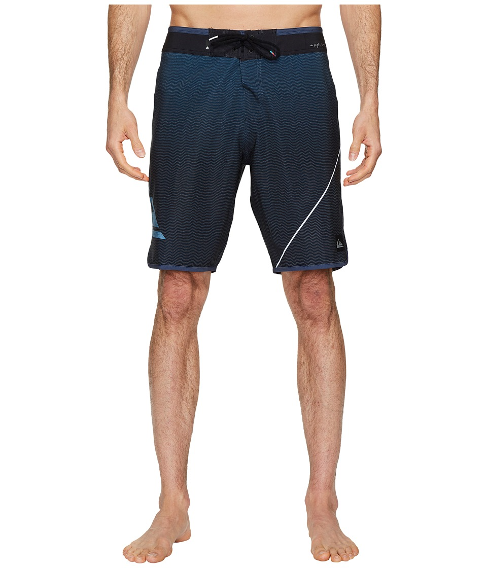 Quiksilver Highline New Wave 20 Boardshorts (Blue Night) Men