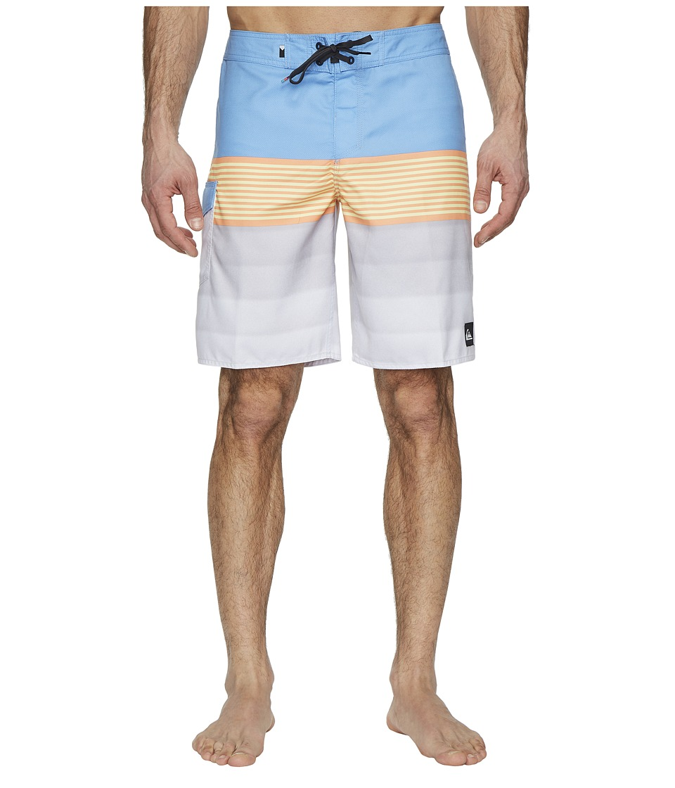Quiksilver Division Solid 20 Boardshorts (Silver Lake Blue) Men