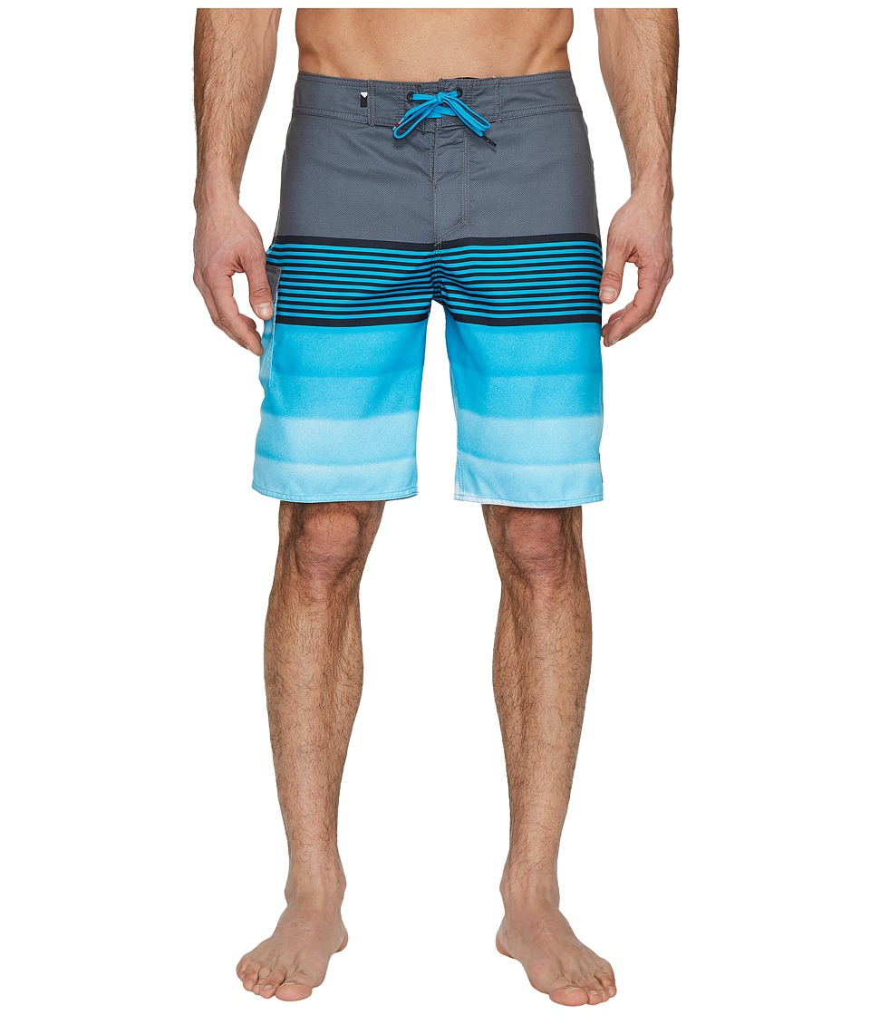 Quiksilver Division Solid 20 Boardshorts (Iron Gate) Men