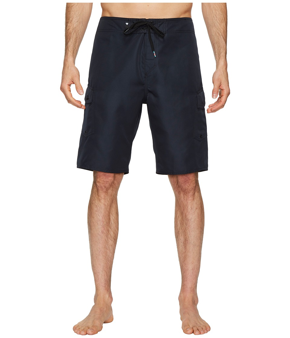 Quiksilver Manic Solid 21 Boardshorts (Black) Men