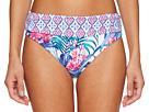 Tommy Bahama Majorelle Jardin High-Waist Sash Bikini Bottom