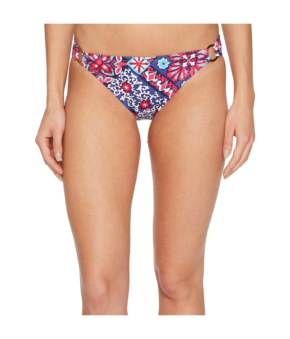 Tommy Bahama Persian Patchwork Ring Hipster Bikini Bottom (Bright Fuchsia)