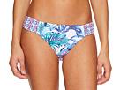 Tommy Bahama Majorelle Jardin Side-Shirred Hipster Bikini Bottom