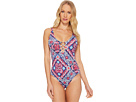Tommy Bahama Persian Patchwork OTS One-Piece