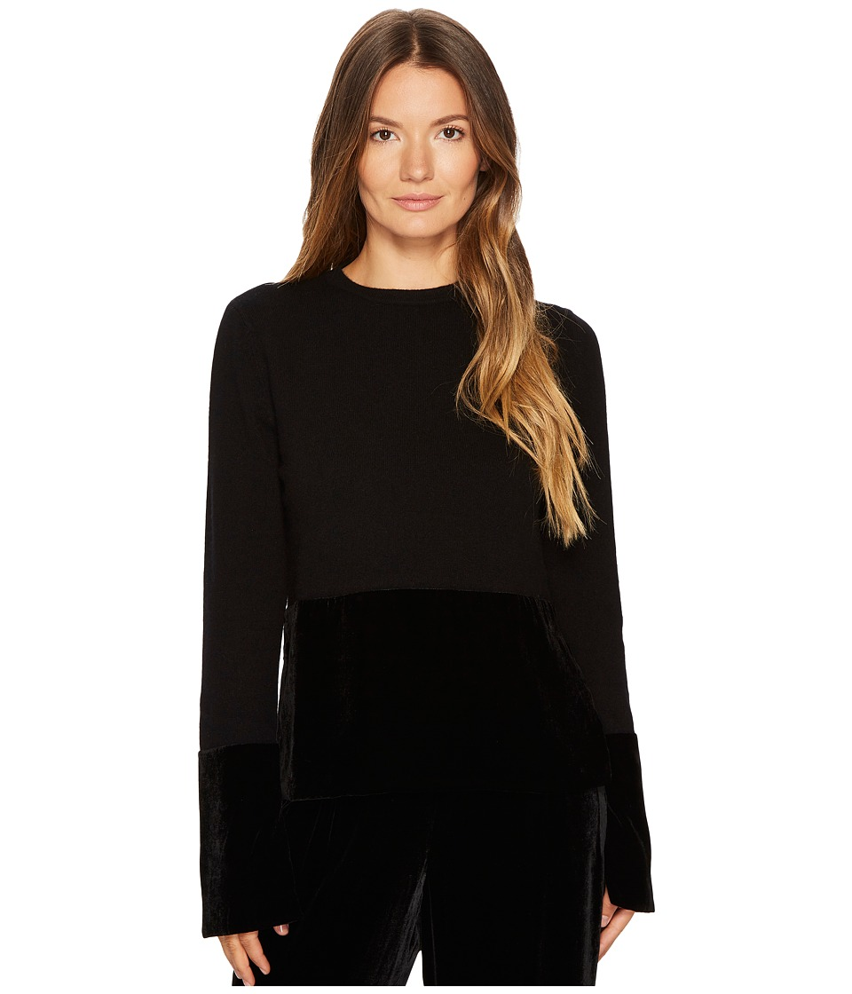 Cashmere In Love - Taylor Pullover with Velvet Panel