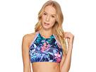Tommy Bahama Majorelle Jardin Reversible High-Neck Bikini Top