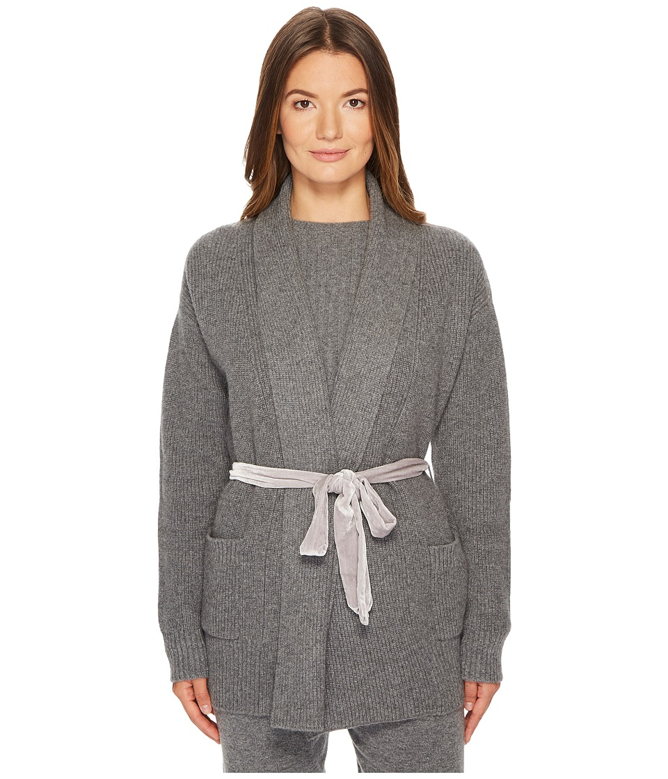 Cashmere In Love - Tracy Cardigan with Velvet Back