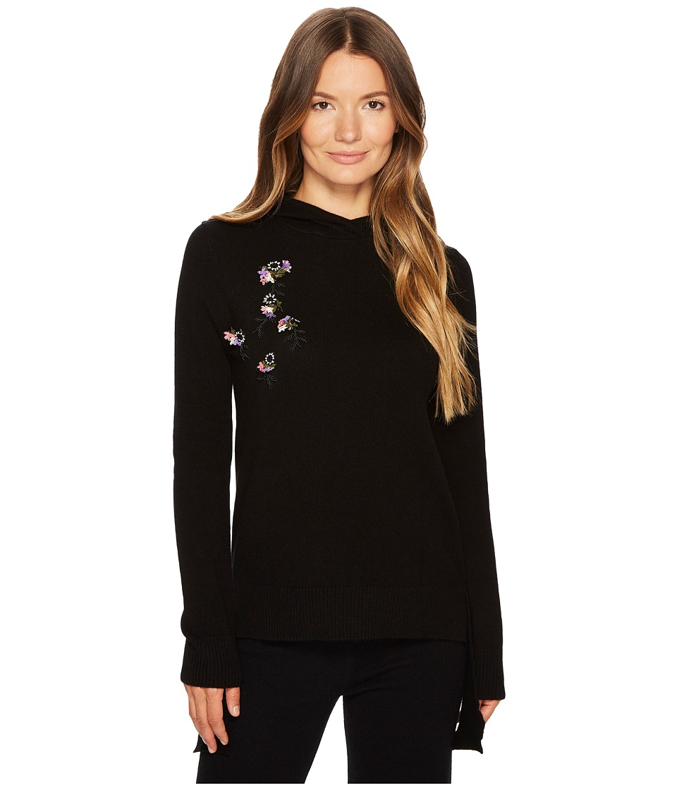 Cashmere In Love - Heather Oya Embroidered Hoodie