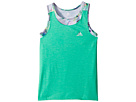 adidas Kids adidas Kids Melange Twofer Tank Top (Big Kids)