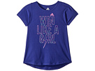 adidas Kids adidas Kids Create The Win Tee (Big Kids)