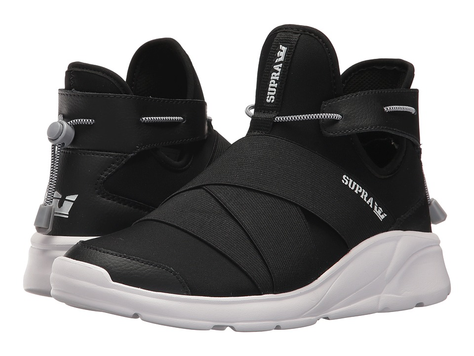 Supra Anevay (Black/White) Women's Skate Shoes
