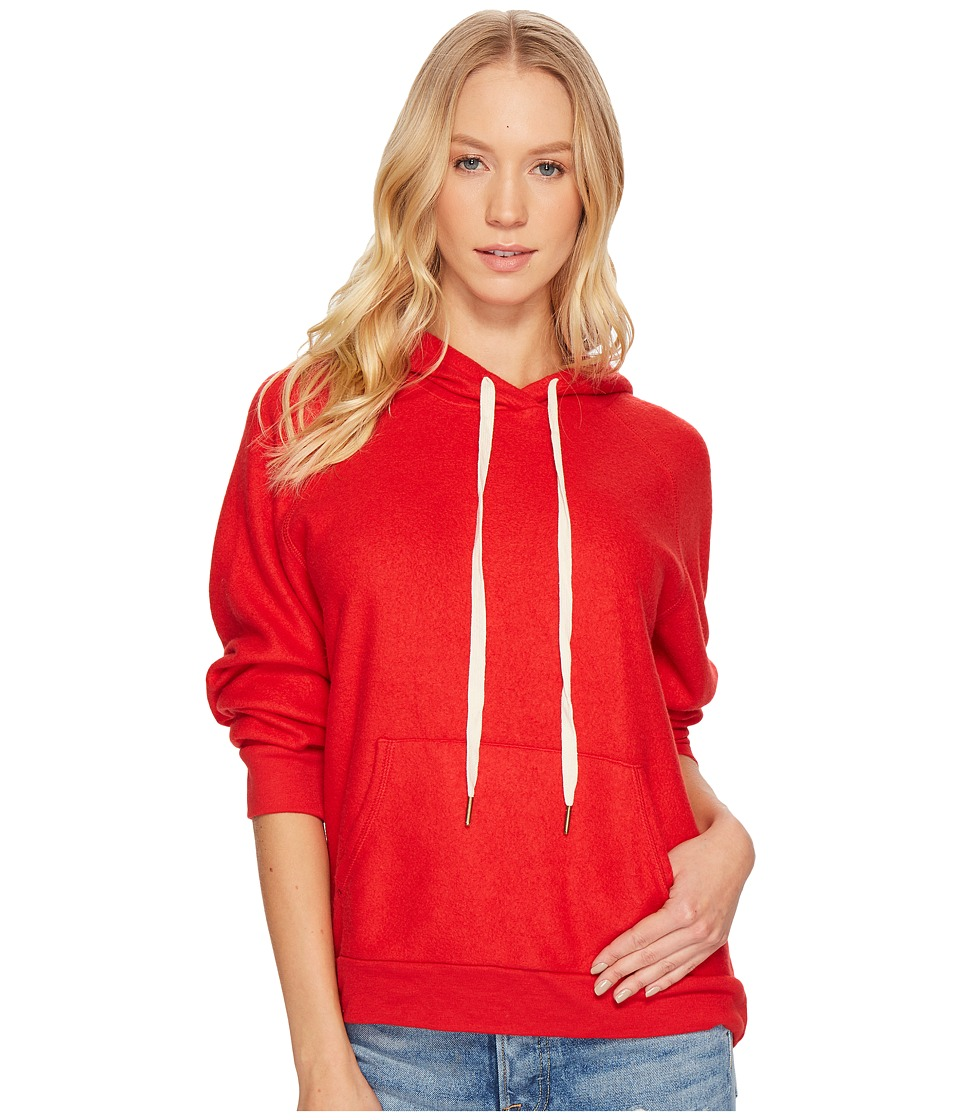 Project Social T - Tyler Hoodie (Parisian Red) Womens Sweatshirt