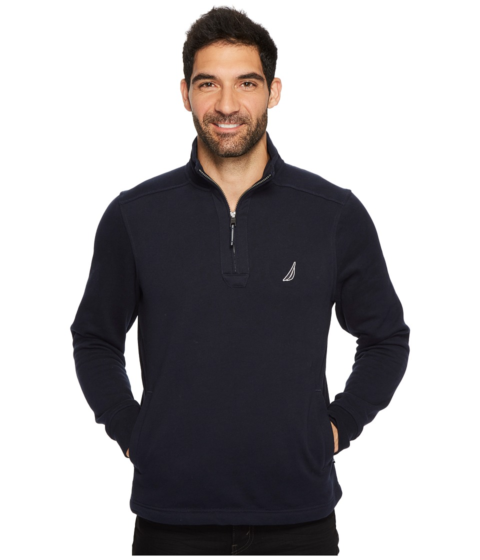Nautica 12GG 1/4 Zip Jersey (Estate Blue) Men