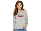 Project Social T Naughty or Nice Reversible Sweatshirt