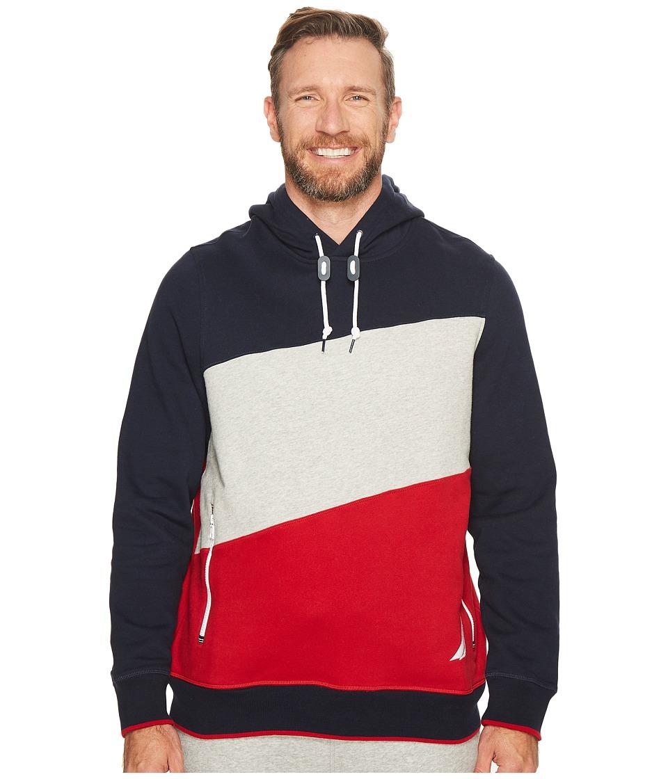 Nautica Big & Tall - Big Tall Logo Pullover Hoodie (Navy)...