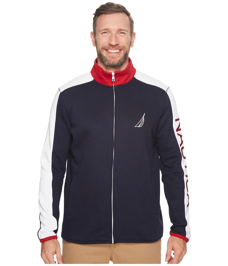 Nautica Big & Tall - Big Tall Logo Full Zip Jacket