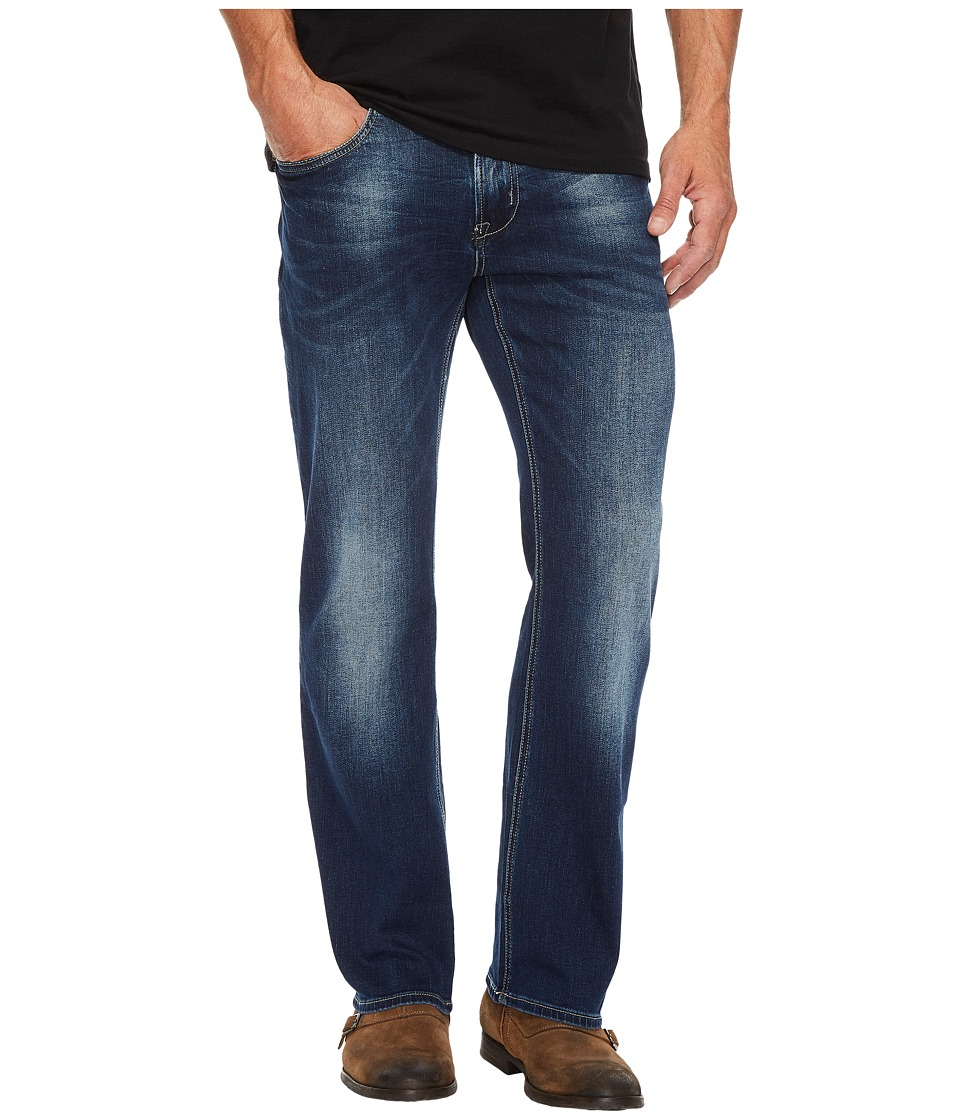 Buffalo David Bitton - King-X Slim Bootcut Leg Jeans in Authentic and Worn