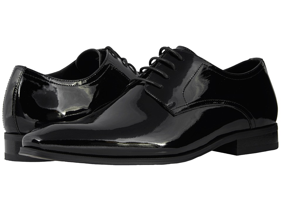 Victorian Men's Tuxedo, Tailcoats, Formalwear Guide Florsheim - Tux Plain Toe Oxford Black Patent Mens Plain Toe Shoes $109.95 AT vintagedancer.com