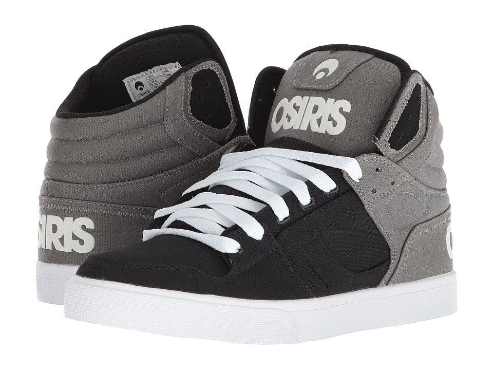 Osiris - Clone (Grey/Black/Black) Mens Skate Shoes