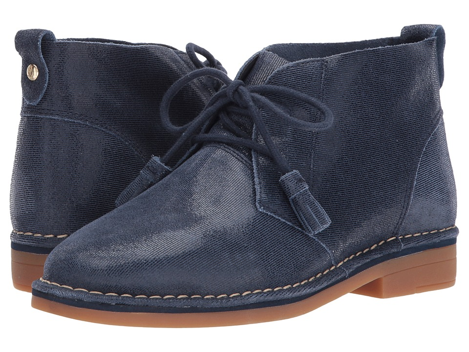 Hush Puppies Cyra Catelyn (Navy Shimmer Suede) Women