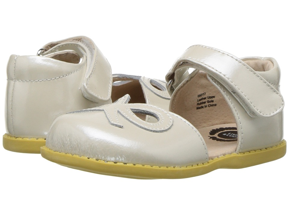 Livie & Luca - Bow (Toddler/Little Kid) (Cloud Shimmer) Girls Shoes