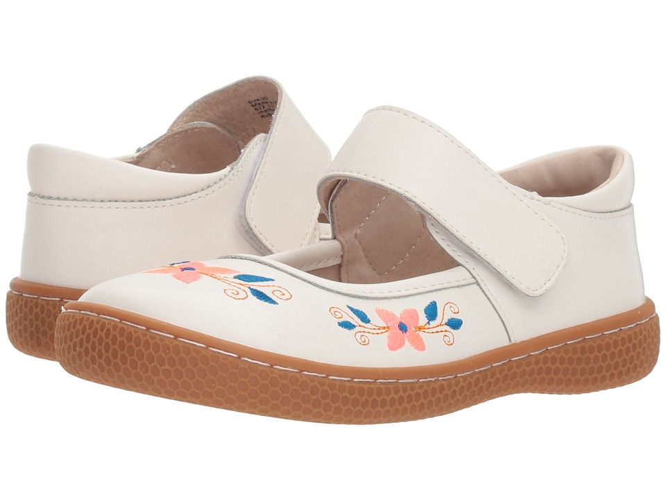 Livie & Luca - Frida (Little Kid) (Bright White) Girls Shoes