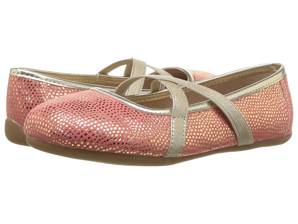 Livie & Luca - Aurora (Little Kid) (Golden Coral) Girls Shoes