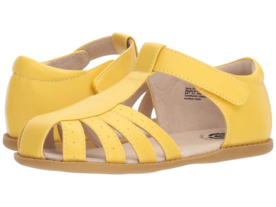 Livie & Luca - Paz (Little Kid) (Lemon Yellow) Girls Shoes