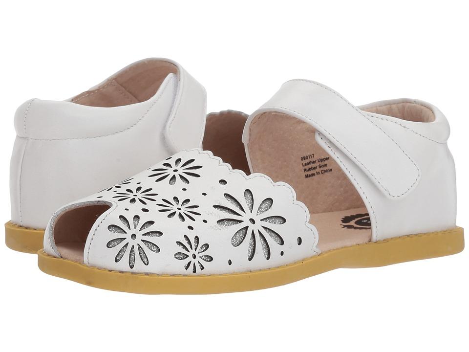 Livie & Luca - Carmen (Little Kid) (Bright White) Girls Shoes