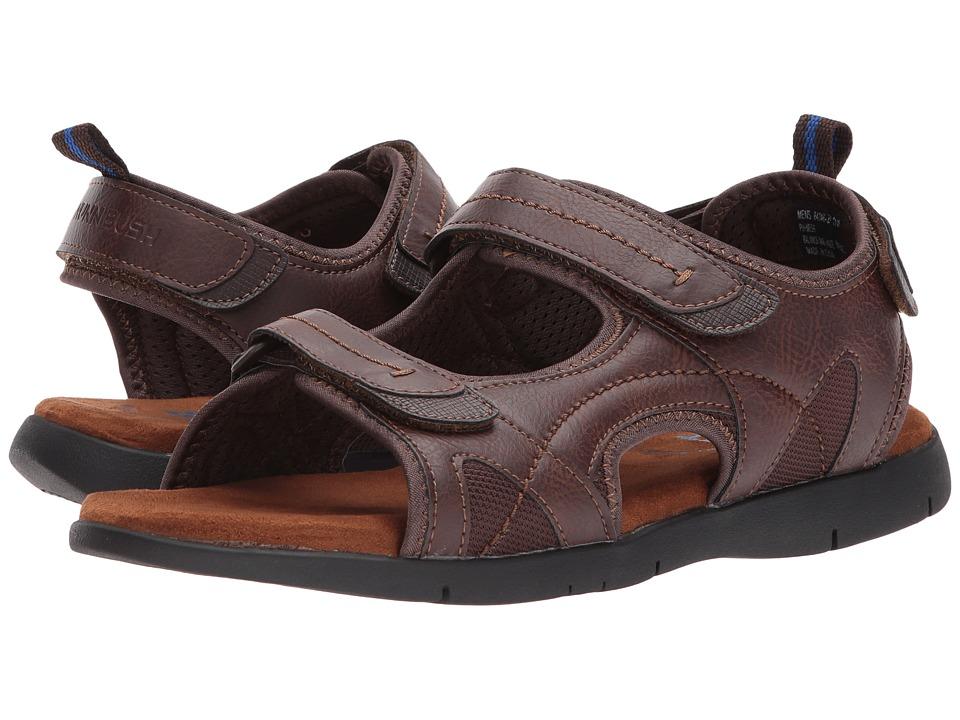 Nunn Bush - Rio Grande Three Strap River Sandal (Tan) Men's Sandals