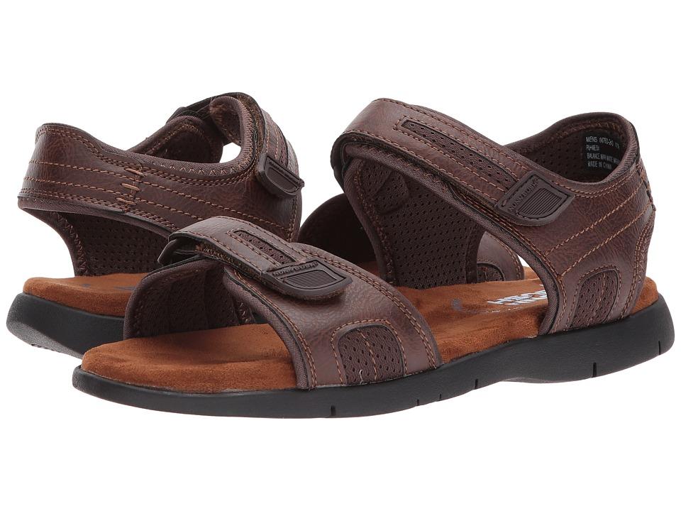 Nunn Bush - Rio Grande Two Strap River Sandal (Tan) Men's Sandals