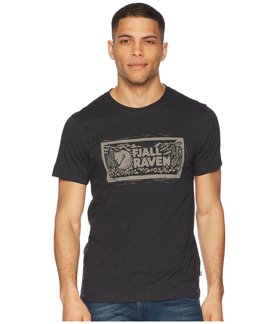 Fjallraven - Logo Stamp T-Shirt (Dark Grey) Mens T Shirt