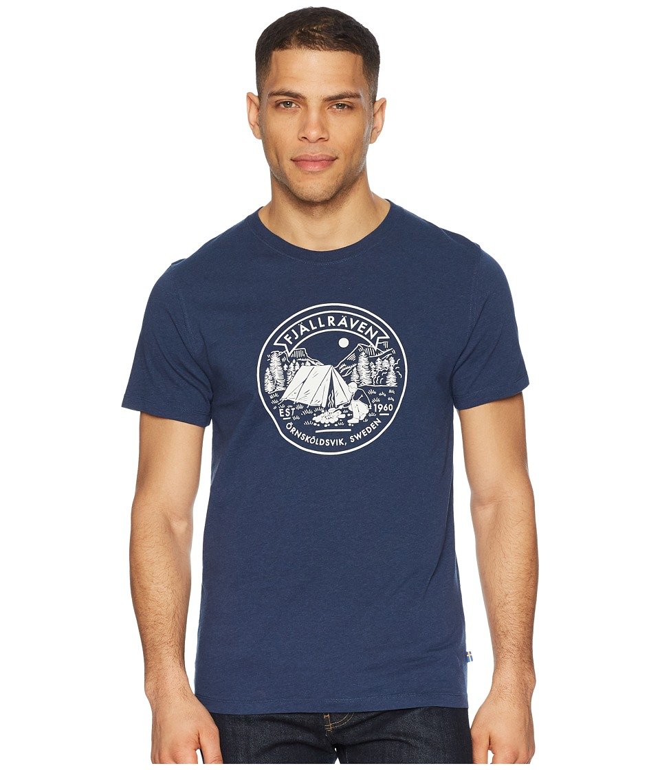 Fjallraven - Lagerplats T-Shirt (Navy) Mens T Shirt