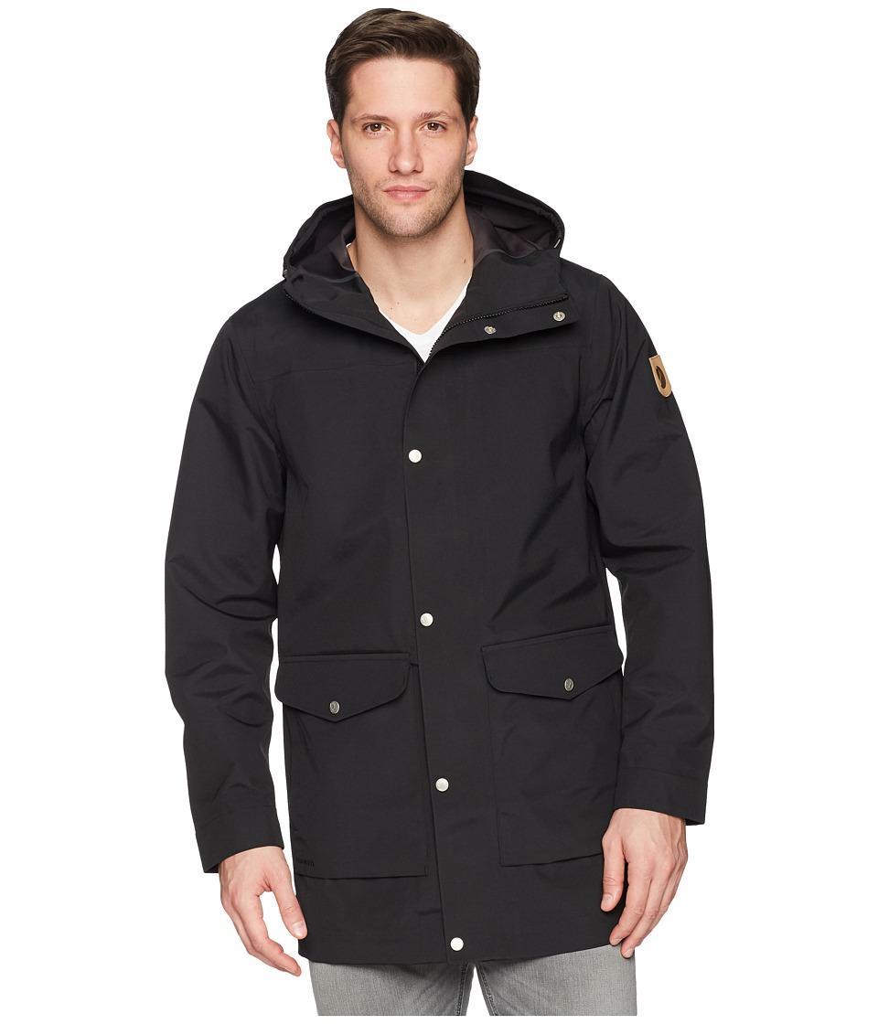 Fjallraven Greenland Eco-Shell Jacket (Black) Men