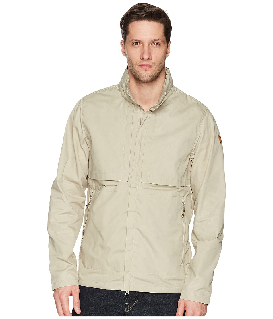 Fjallraven - Travellers Jacket (Limestone) Mens Coat
