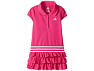 adidas Kids adidas Kids Ruffle Polo Dress (Little Kids)