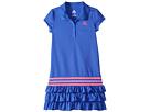 adidas Kids Ruffle Polo Dress (Little Kids)