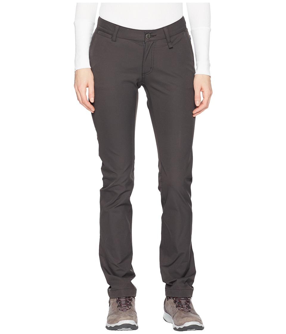 Fjallraven - Abisko Stretch Trousers (Dark Grey) Womens Casual Pants