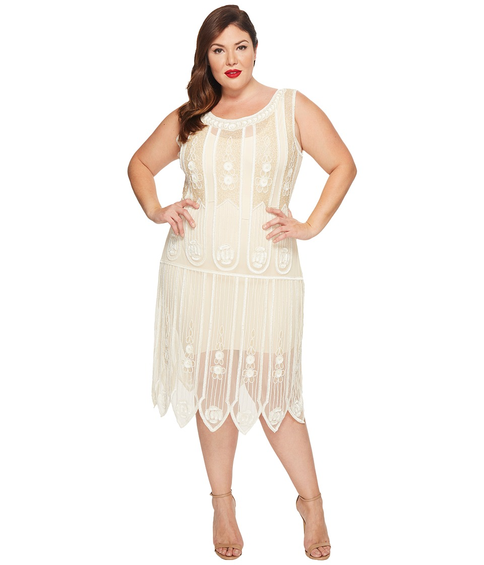 Art deco plus size wedding dresses