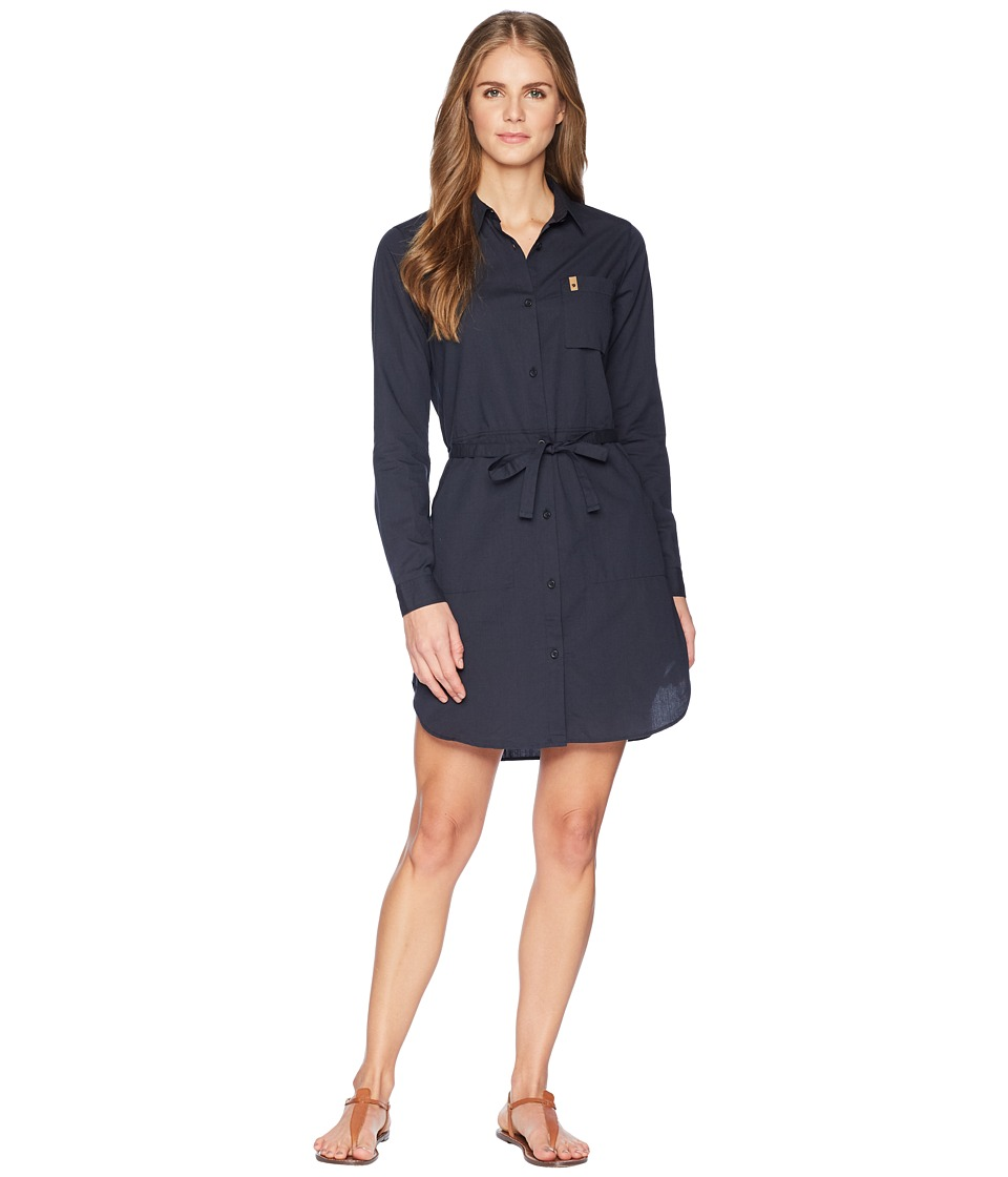 Fjallraven - Ovik Shirtdress (Dark Navy) Womens Dress