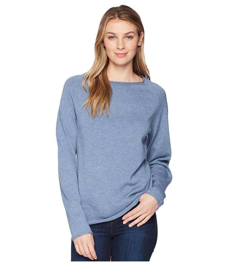Fjallraven - Ovik Sweater (Blue Ridge) Womens Sweater