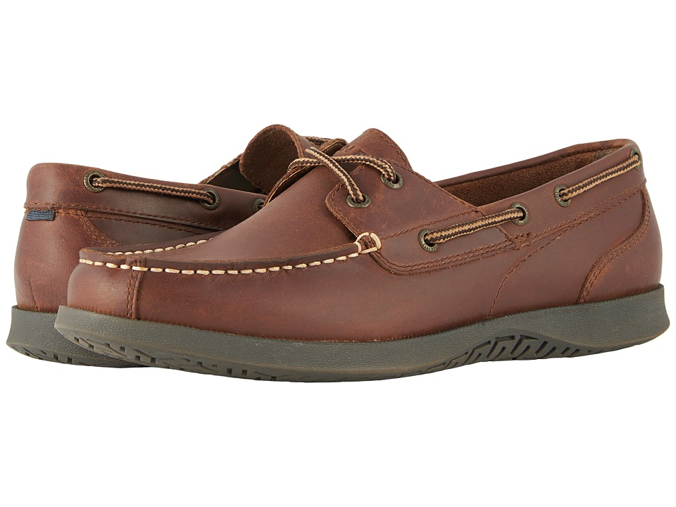 Nunn Bush Bayside Lites Two-Eye (Dark Brown) Men