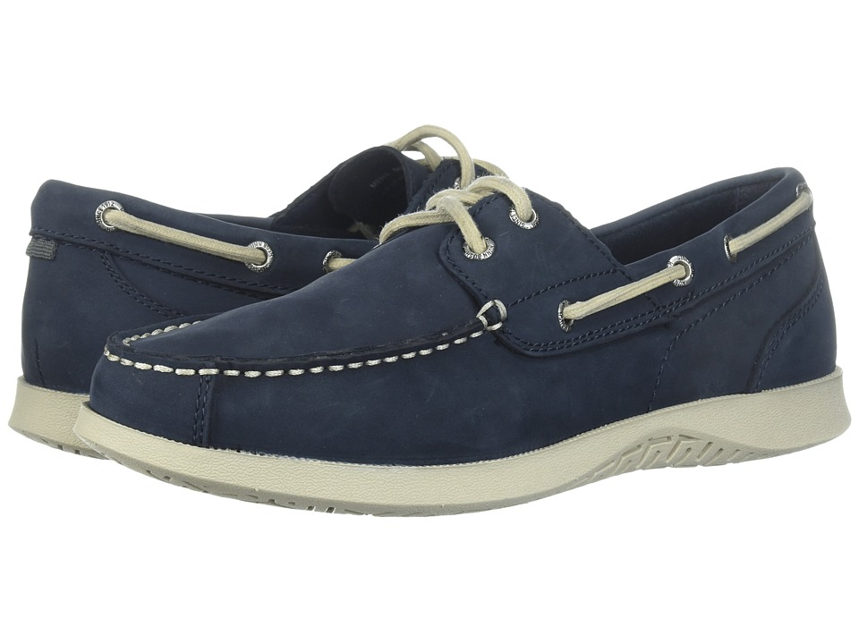 Nunn Bush Bayside Lites Two-Eye (Navy) Men