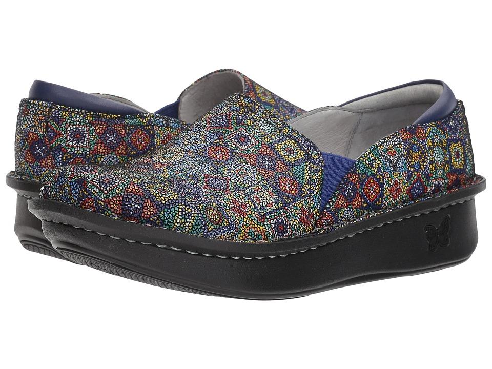 Alegria Debra Professional (Aztec Dottie) Slip-On Shoes